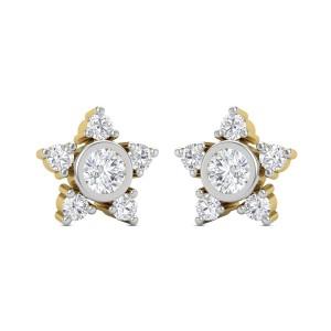 Sera star Diamond Earrings