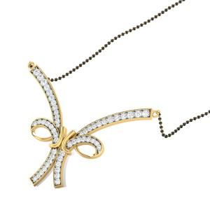 Daivi Diamond Mangalsutra