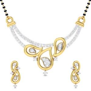 Armelle Diamond Mangalsutra Set