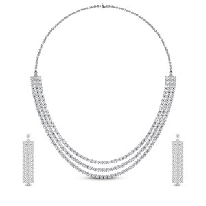 Kashika Diamond Necklace Set