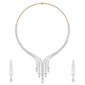 Khawlah Diamond Necklace Set