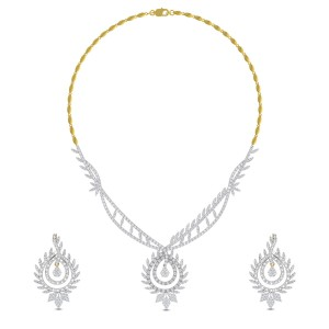 Kamna Diamond Necklace Set