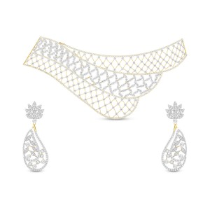 Labini Diamond Necklace Set