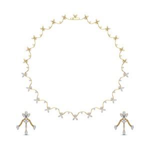 Diamond Necklace Set DJNC5105