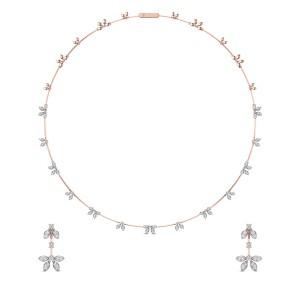 Diamond Necklace Set DJNC5106