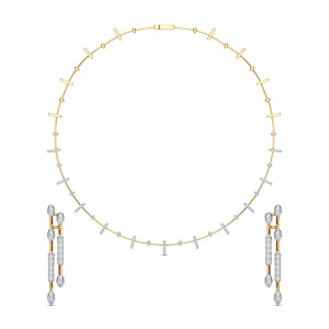 Diamond Necklace Set DJNC5133