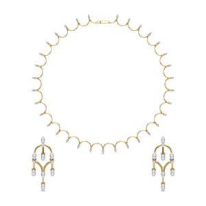 Diamond Necklace Set DJNC5136