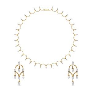 Diamond Necklace Set DJNC5136