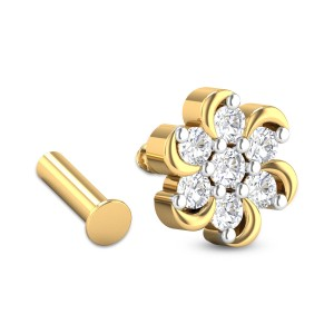 Dorain Seven Stone Diamond Nosepin