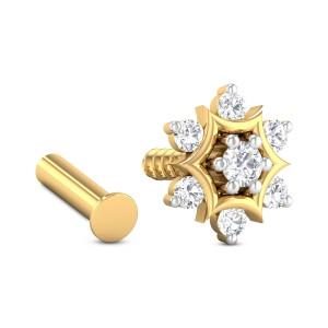 Eileen Seven Stone Diamond Nosepin