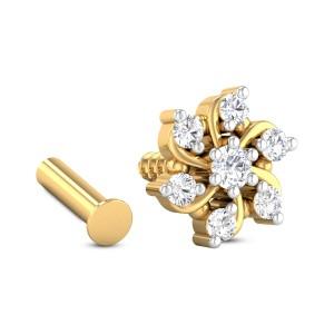 Lauryn Seven Stone Diamond Nosepin