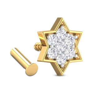 Aquilia Star Diamond Nosepin