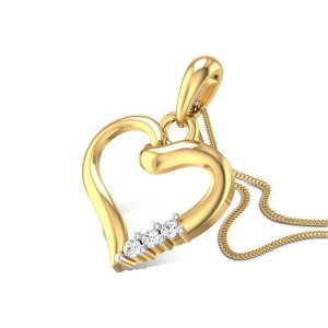 Aspen Love Diamond Pendant