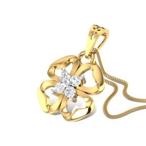 Cloverfield Diamond Pendant