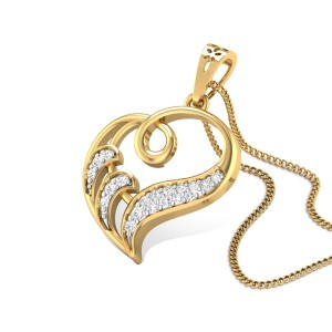 Enduring Beauty Diamond Pendant