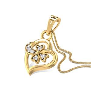 Artemisia Diamond Pendant