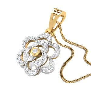 Ephemeral charm Diamond Pendant