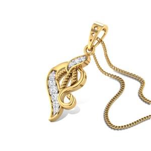 Flor de azahar Diamond Pendant