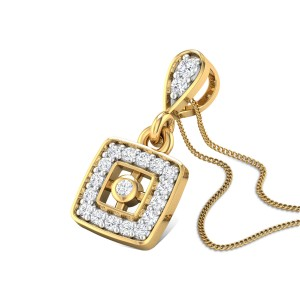 Chastity Diamond Pendant