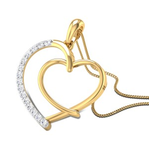 Secret Love Diamond Pendant