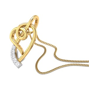 Kind Heart Diamond Pendant