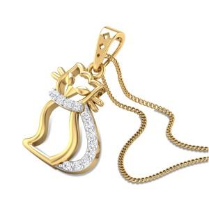 Hello Kitty Diamond Pendant