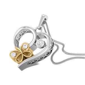 High-Step Glinda Diamond Pendant