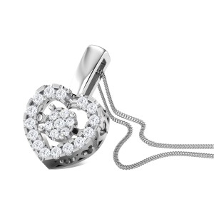 Love Ballet Diamond Pendant