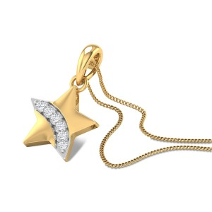 Baby Star Diamond Pendant