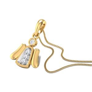China Doll Diamond Pendant