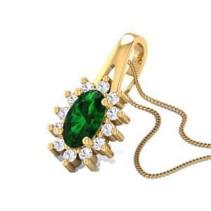 Gentle Joy Diamond Pendant