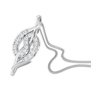 Coy Cuddle Diamond Pendant
