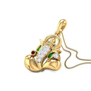 Gadadhara Diamond Pendant