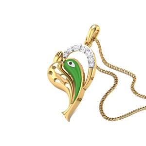 Ganastutasantusta Diamond Pendant