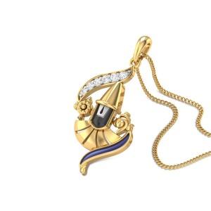 Damodra Diamond Pendant