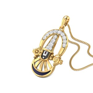Venkataraman Diamond Pendant