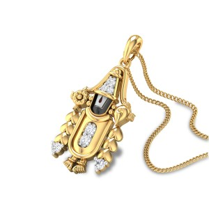 Govindha Diamond Pendant