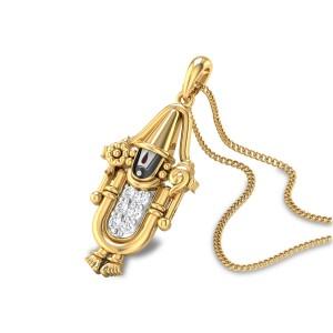 Venkateswara Diamond Pendant