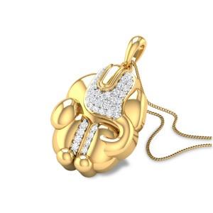 Balaganapati Diamond Pendant