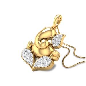 Vigneswara Diamond Pendant