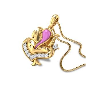 Varaganapati Diamond Pendant