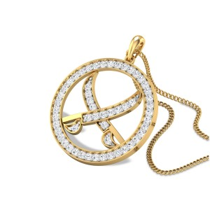 Khanda Diamond Pendant