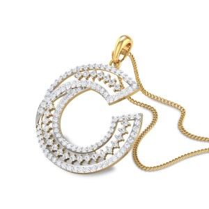 Lane C Diamond Pendant