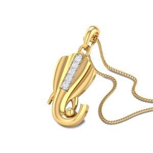 Murphy Ganesha Diamond Pendant