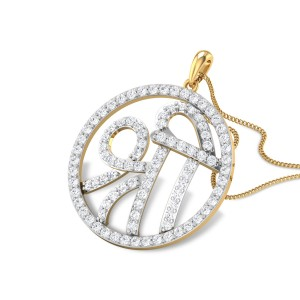 Flynn Shree Diamond Pendant
