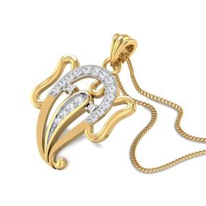 Ganadhyakshina Diamond Pendant