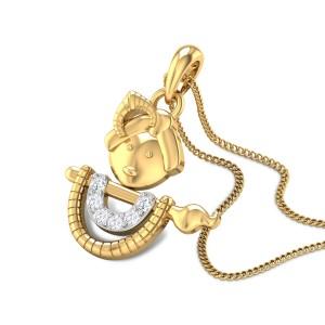 Anandsagar Diamond Pendant