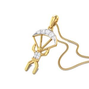 Grainne Diamond Paragliding Pendant