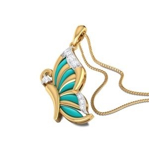 Jenica Butterfly Diamond Pendant