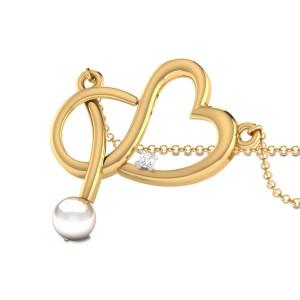 Harkin Knotted Heart Diamond Pendant